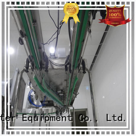 air conveyor systems line bottle air J&D WATER Brand