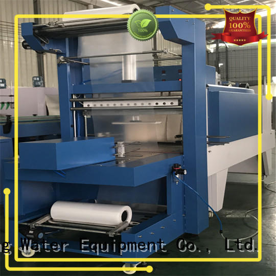 shrinkable heat shrink machine precise control for chemistry J&D WATER