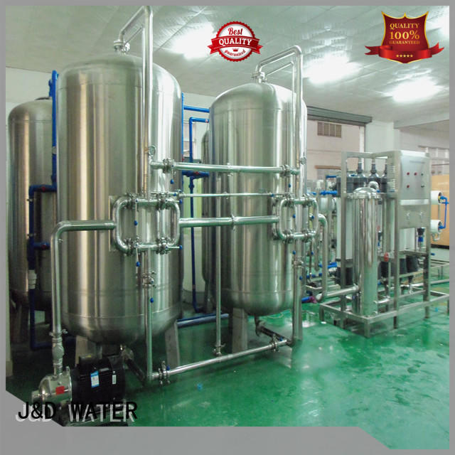 J&D WATER mineral water machine filter for wastewater
