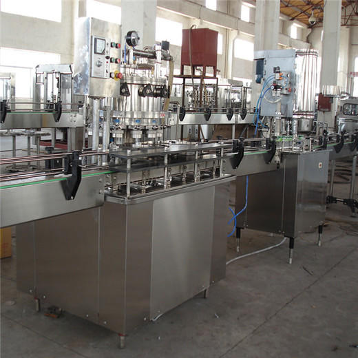 can packaging machine tin PET J&D WATER