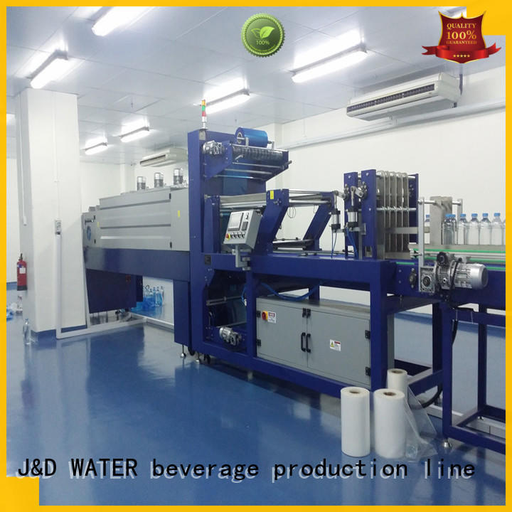 J&D WATER breveager packing machine easy to operate for food
