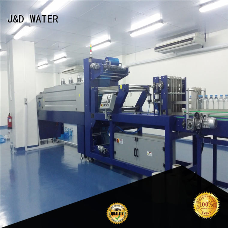 J&D WATER intelligent shrink machine reduce cost for beer