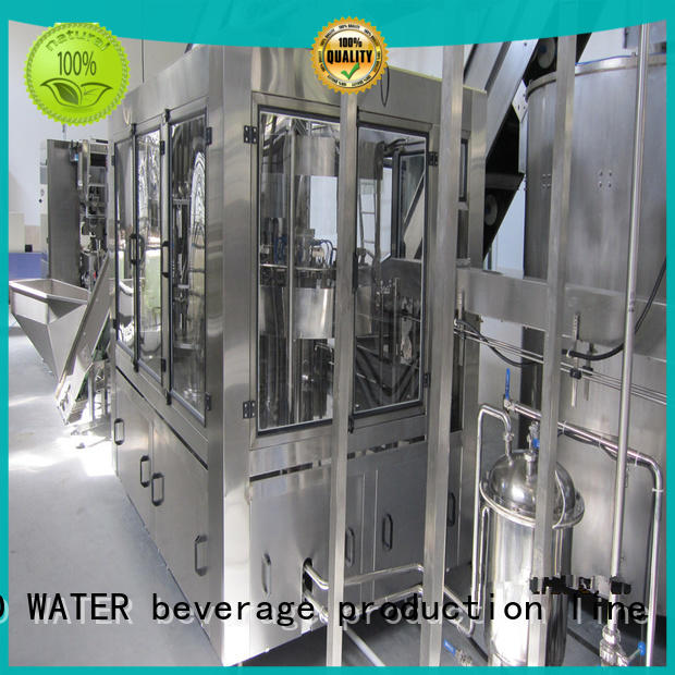adjusted water packing machine stainless steel for pure water