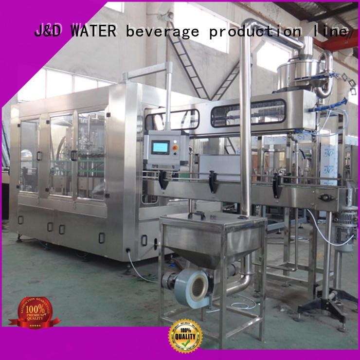 J&D WATER bottle filling machine high accuracy for vinegar