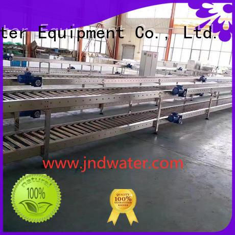 J&D WATER Brand roller conveyorjd water gravity roller conveyor water