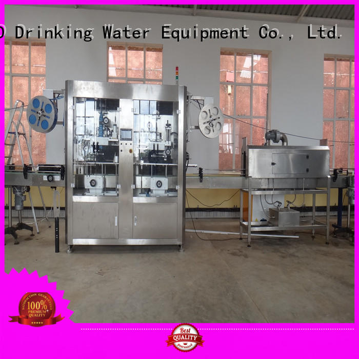 J&D WATER anti-rust automatic labeling machine convenient for metal container