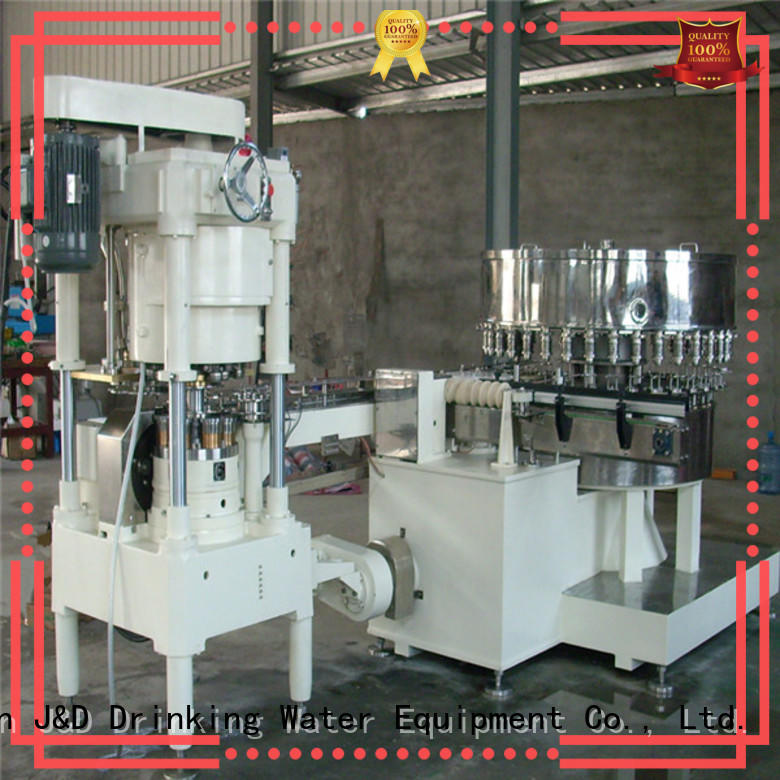 J&D WATER canning machine stainless steel for mineral water