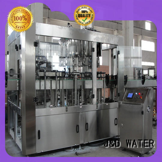 J&D WATER bottle capping machine complete function for milk