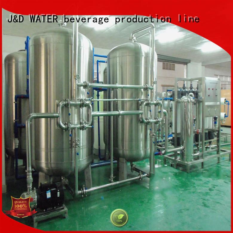 J&D WATER mineral water making machine With Stainless Steel water