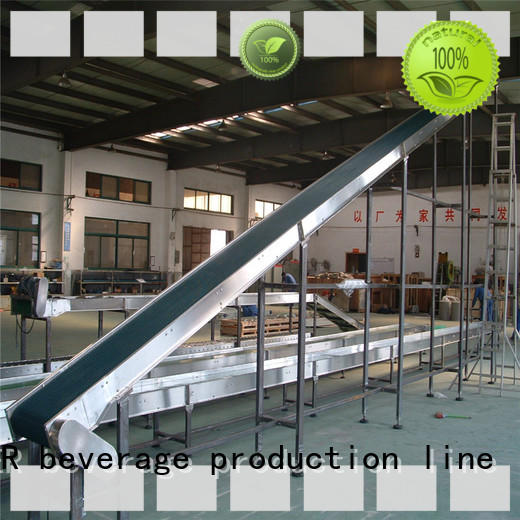conveniently slat conveyor stainless steel for daily chemical