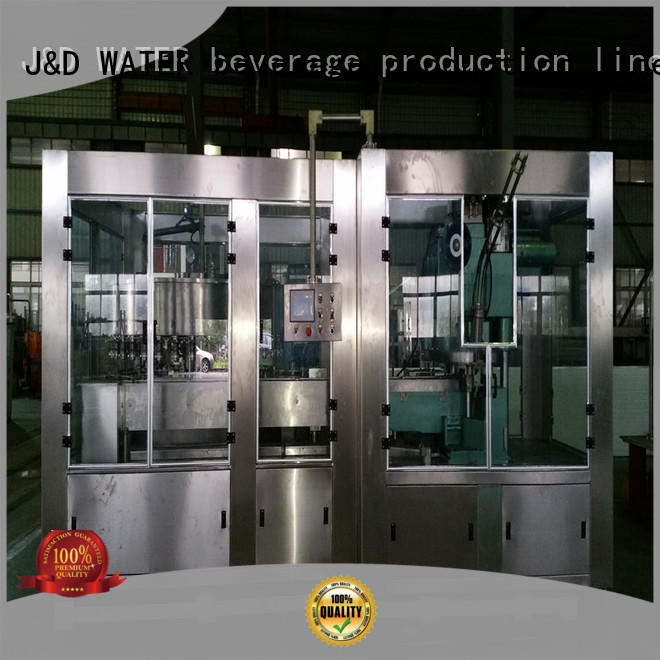 J&D WATER can sealing machine engineering for cosmetic