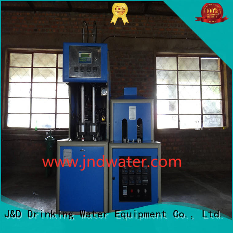 blow reheat semiauto automatic blow moulding machine stretch J&D WATER Brand