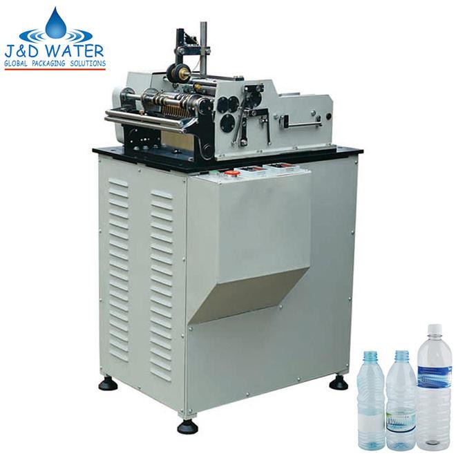 J&D WATER bottle jar labeling machine intellectual control metal container