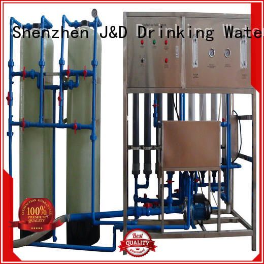 mineral water filter machine price mineral treatment water Warranty J&D WATER