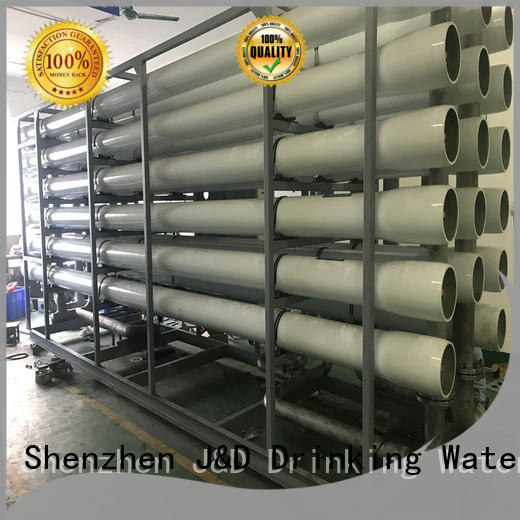 J&D WATER standard desalination machine effortlessly for sea shore cities