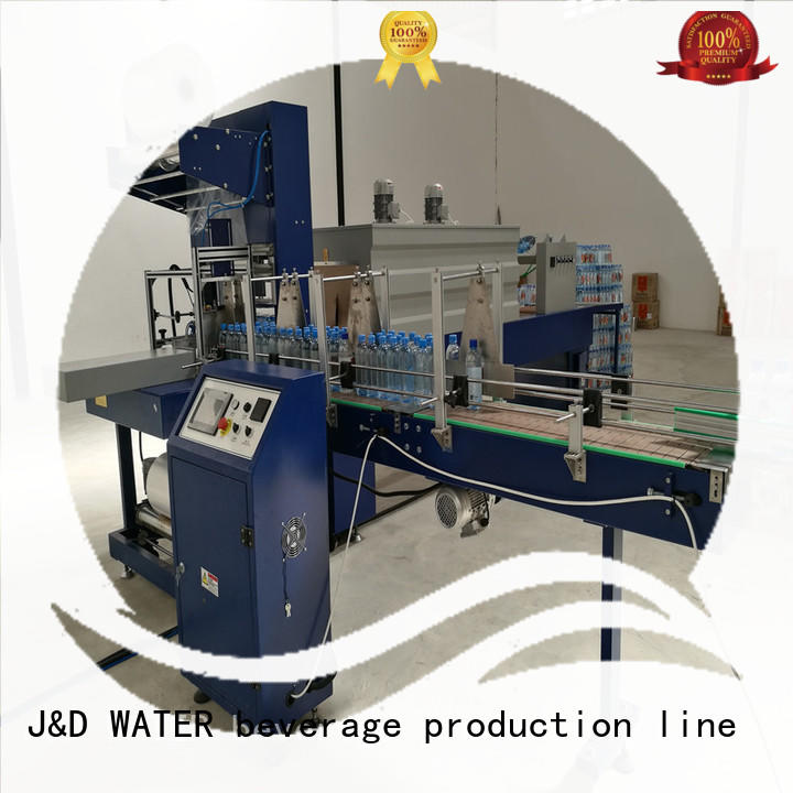 J&D WATER shrink packing machine high quality for beverage