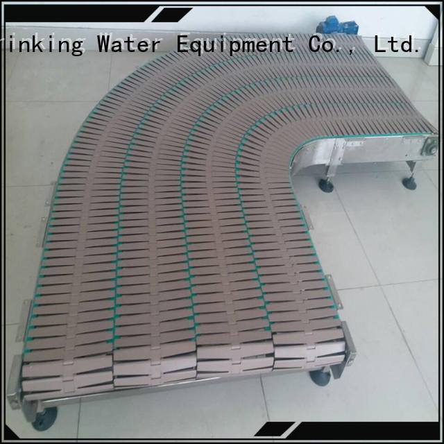 J&D WATER quick slat conveyor stability for beverage,