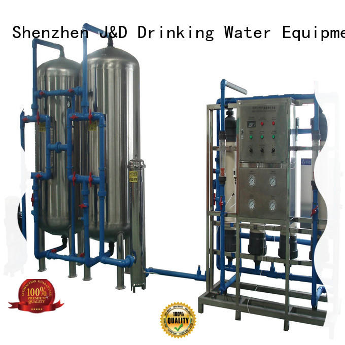 filter mineral water filter machine economic for treatment plants J&D WATER