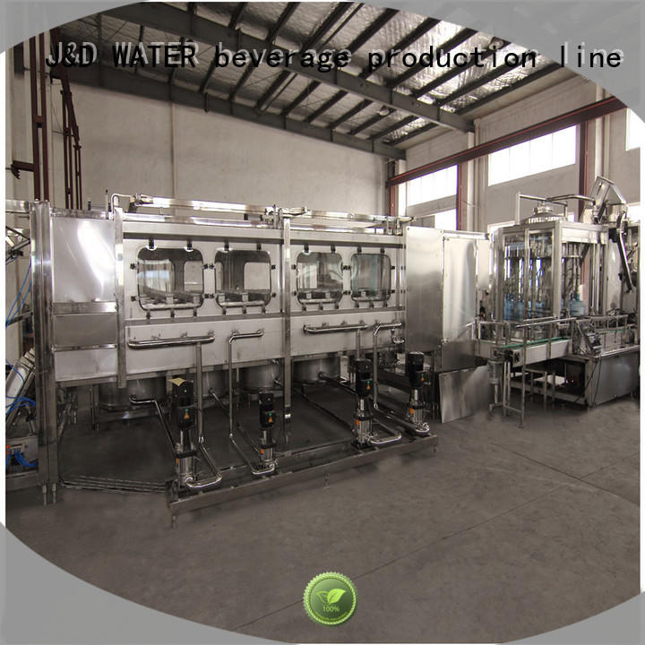 J&D WATER 3 in 1 filling machine stainless steel for sauce