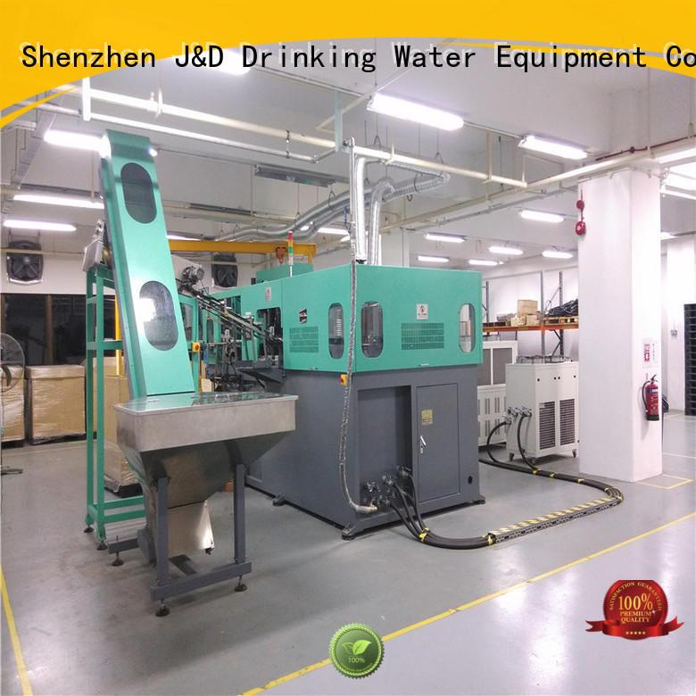 machinejd semi automatic pet blowing machine price blowing J&D WATER company