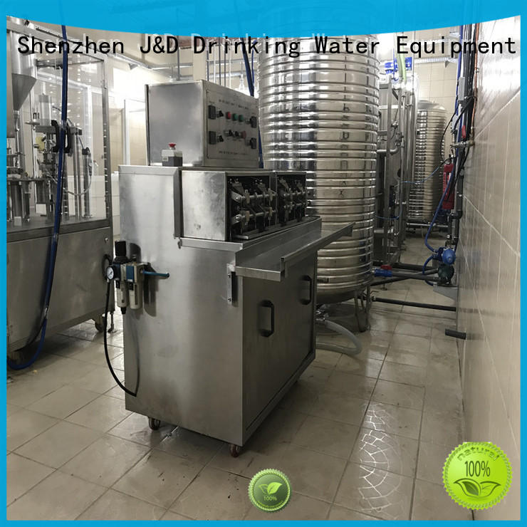 liquid automatic bag bagging machine J&D WATER Brand