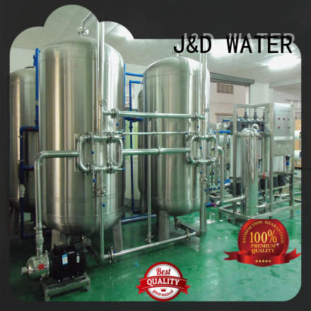 J&D WATER mineral water making machine With Stainless Steel for pharmaceutical for industry chemical processing