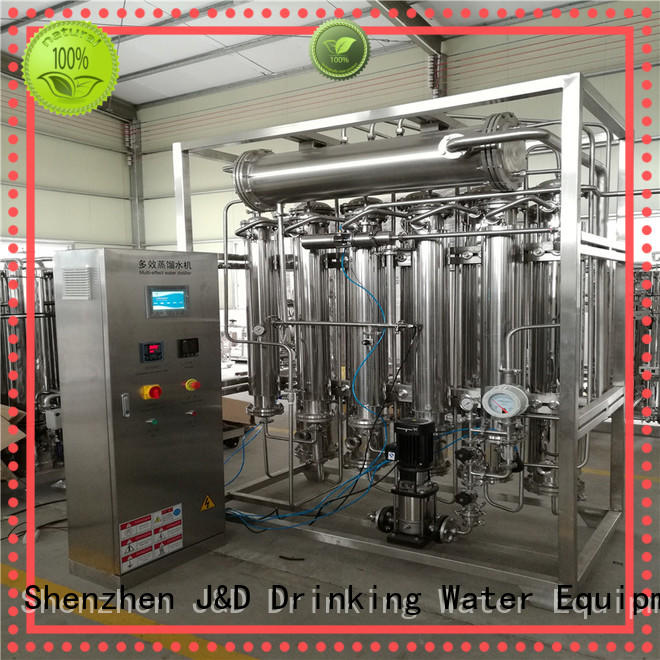 J&D WATER high heating efficiency water distiller for sale stable service for drinking industries