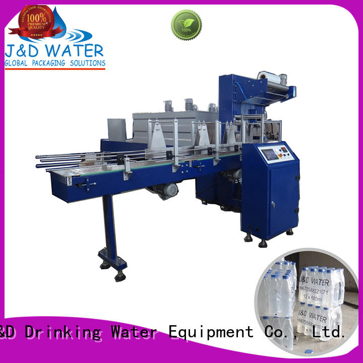 J&D WATER pouch plastic wrapping machine stable performance for chemistry