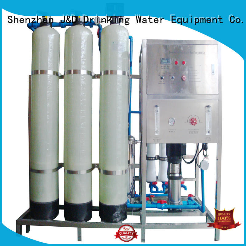J&D WATER Intelligent ro filter machine manual wash for pure water