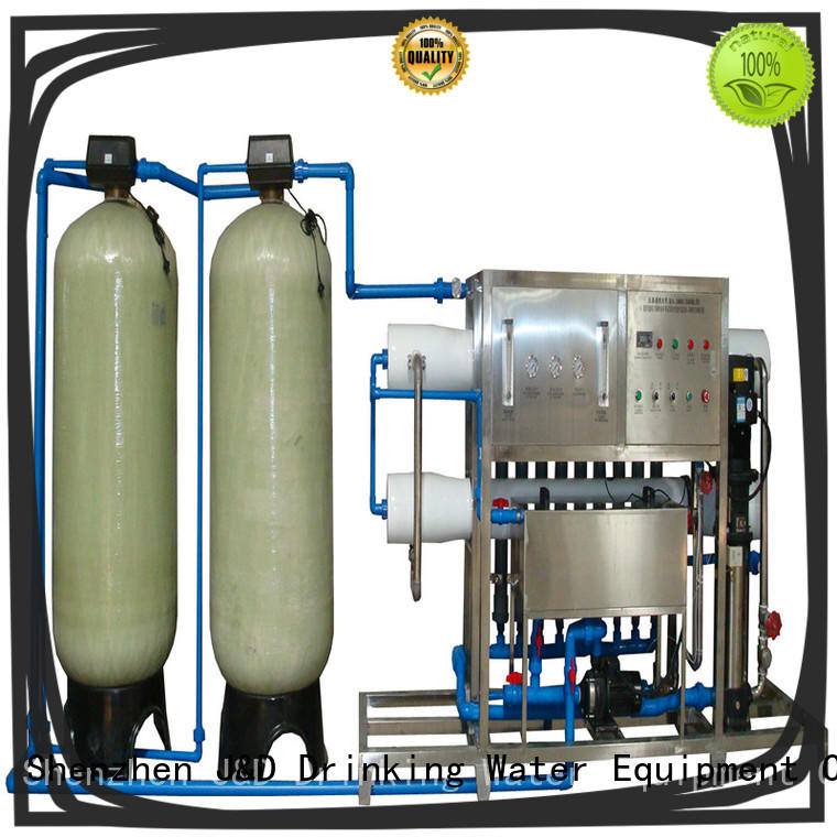 glass ro machine osmosis drinking water treatment J&D WATER