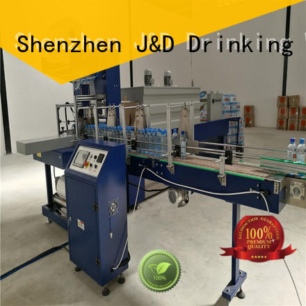 J&D WATER plastic wrapping machine stable performance for food