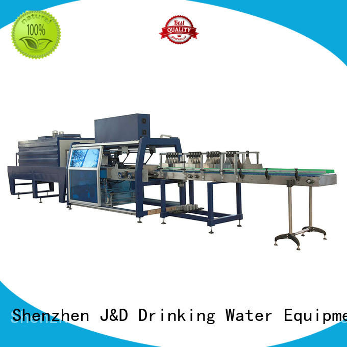 wrapping machine for bottle, for food J&D WATER