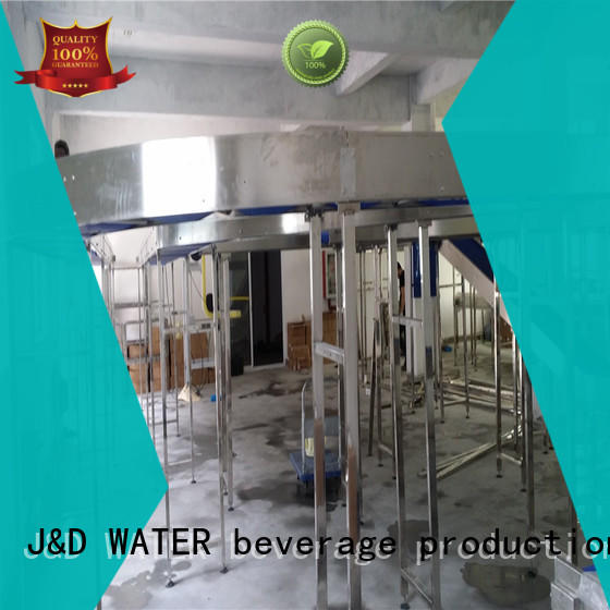 J&D WATER energy saving chain conveyor stability for food