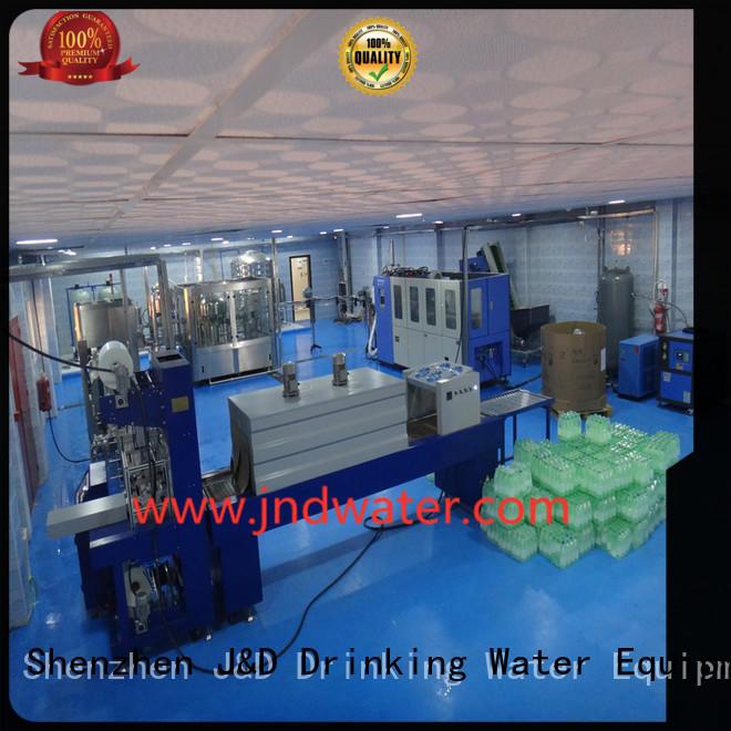 машина фасовочная автоматическая термоусадочная упаковочная машина J & D WATER Brand