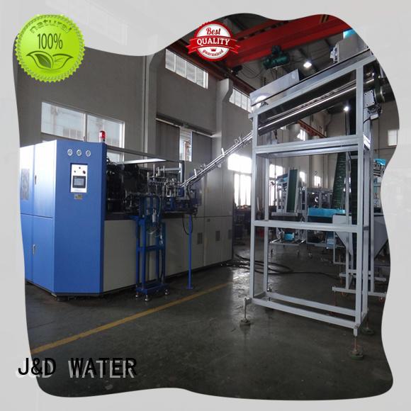 J&D WATER pet blow moulding machine effortlessly for beverage