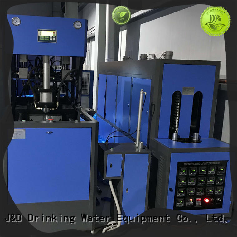 J&D WATER blow moulding machine Blowing for 1 Gallon
