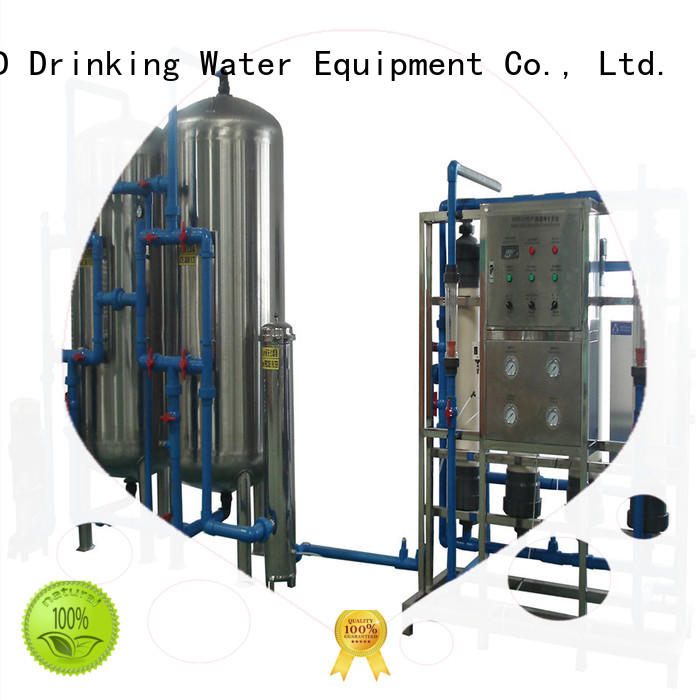 mineral equipment water mineral water filter machine price J&D WATER manufacture