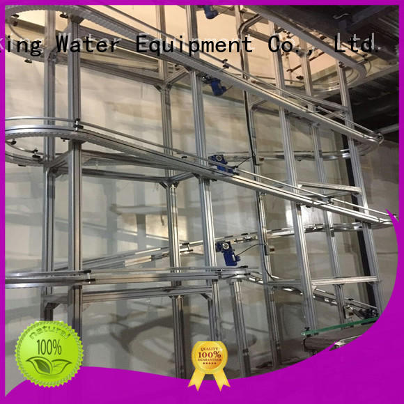 J&D WATER high quality slat conveyor climbing for beverage,
