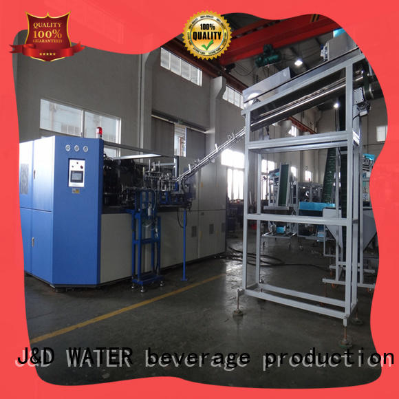 J&D WATER Customized pet bottle blowing machine for sale for package