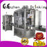filling sealing machine oil for hot infusion J&D WATER