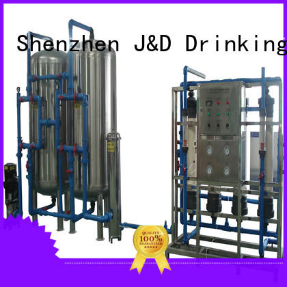 J&D WATER energy saving water purifier machine for plant purifier for beverage
