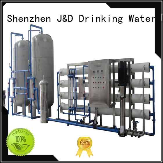 J&D WATER standrad ro machine filter for drinking water for treatment