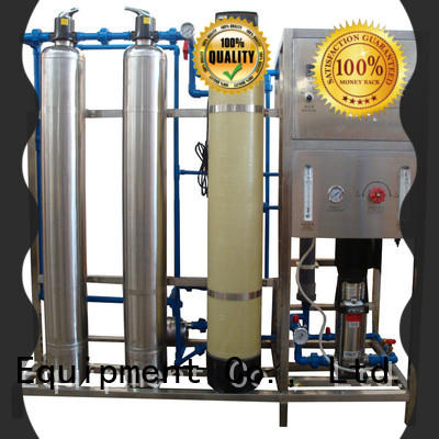 Auto-check reverse osmosis equipment with Glass Tank for drinking water for treatment