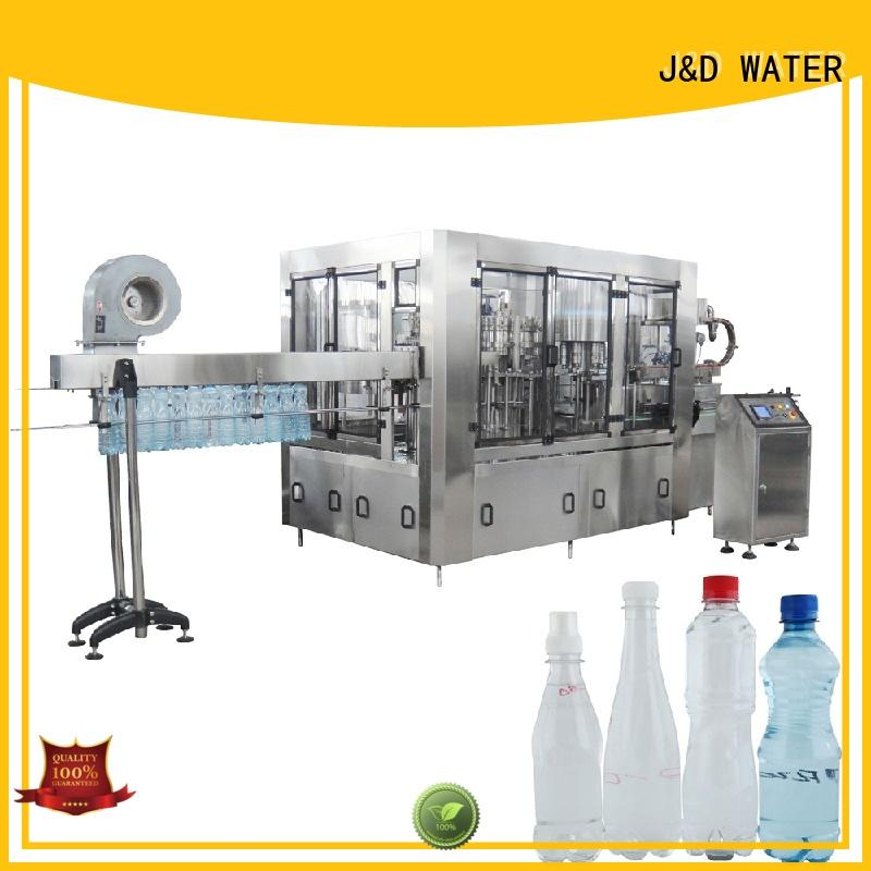 J&D WATER advanced technology volumetric filling machine stainless steel for tea
