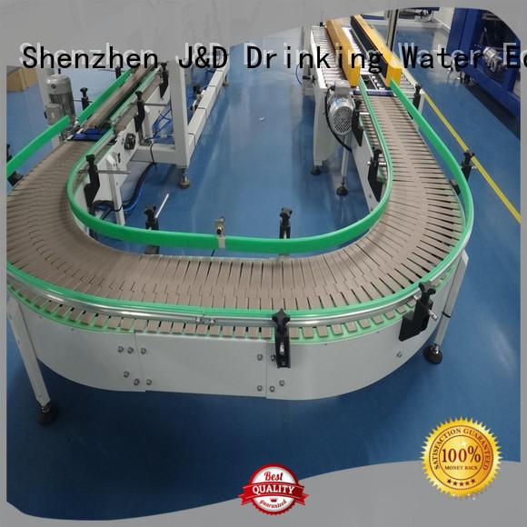 J&D WATER Brand chain belt stainless chain conveyor belt material