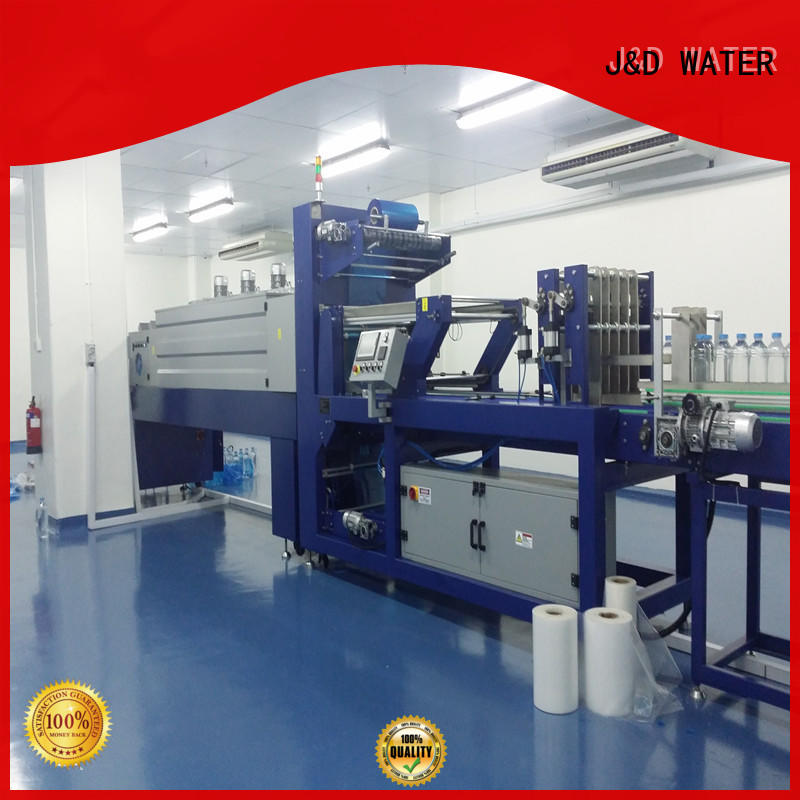 J&D WATER convenient wrapping machine for bottle, stable performance for chemistry