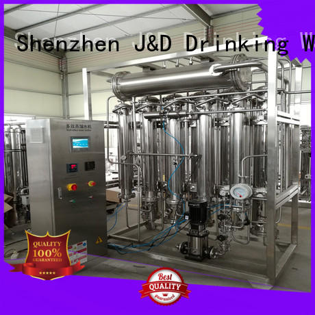 J&D WATER easy operation distilled water machine stable service for food