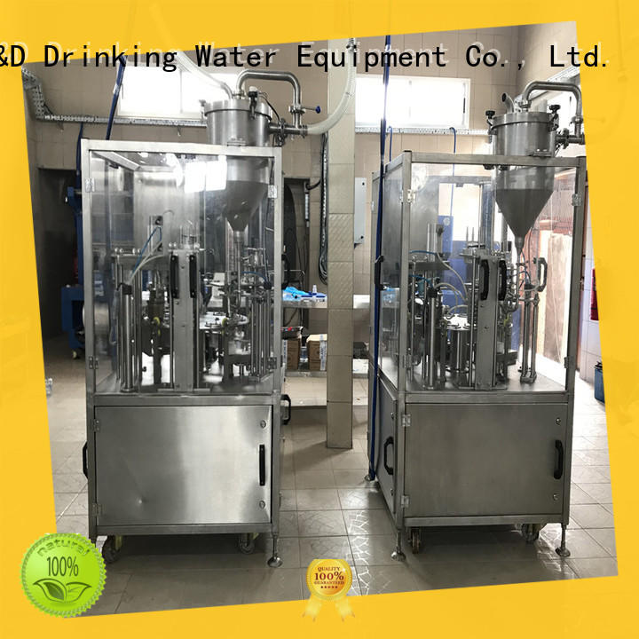 J&D WATER sealing cup filling sealing machine good quality for package