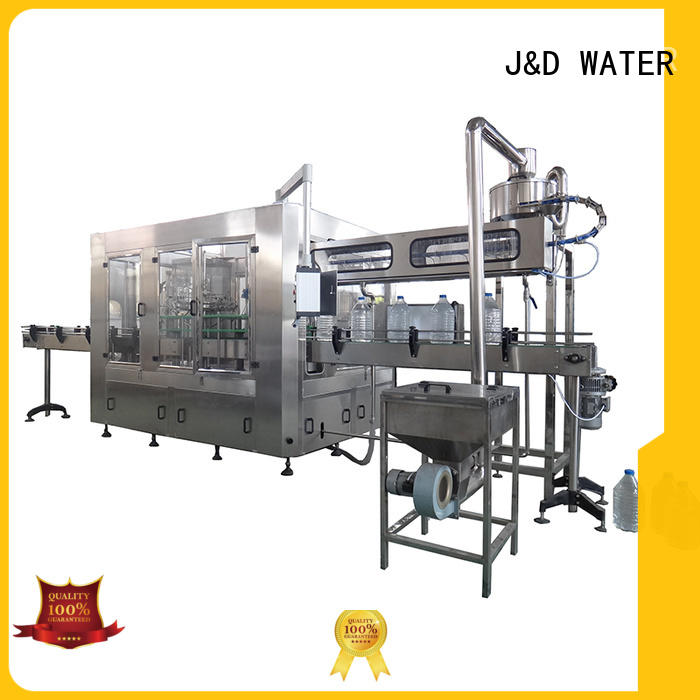 J&D WATER easy operation bottle filling equipment high accuracy for tea