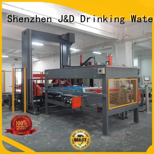 palletizer machine jndwater for beer J&D WATER